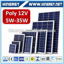 A Grade sollar panel portable solar panels for caravans 25w 12v panels solar china direct