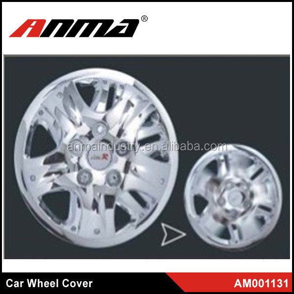 High Quality 13 inch 14 inch Universal Silver ABS Plastic car Wheel Covers