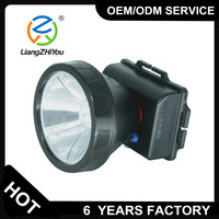 New model good performance waterproof led head lamp for camping