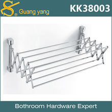 Brass Metal folding towel warmer rack KK38003