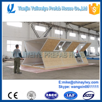 YULI Prefab container house - foldable container house office sandwich panel type