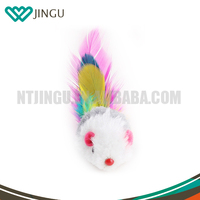 Wholesale Cat Teaser mouse Toy Cat Feather Toy Cat Toy
