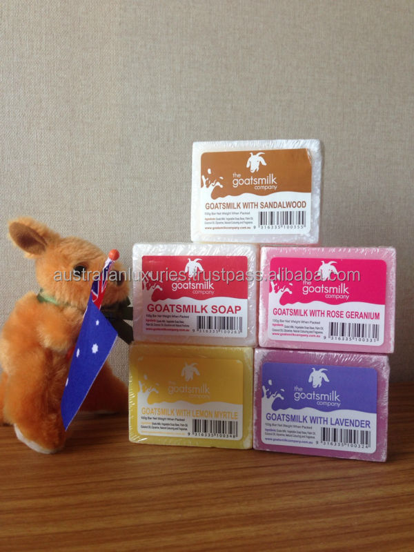 Australian Made Goatsmilk Soap (100g) 100% Goats Milk not powder