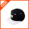 2016 wholesale custom leather plain snapback cap with leather belt