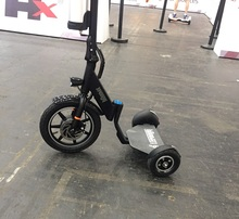 Easy rider Smart creative 3 wheel folding electric mobility scooter for adult or disable