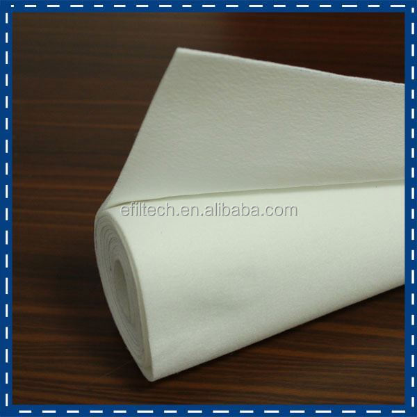 100% polyester filter fabric asphalt mills for dust collector