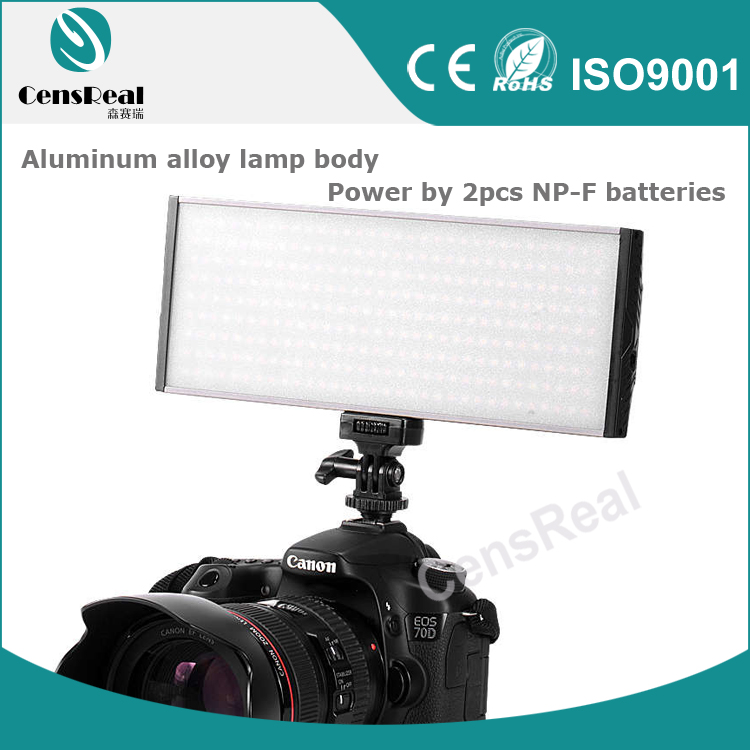 Slim Led Panel Video Light 30W 288pcs Led for Canon Camera