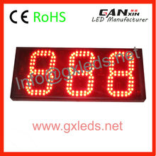 alibaba semi-outdoor <strong>led</strong> digital counter <strong>display</strong>