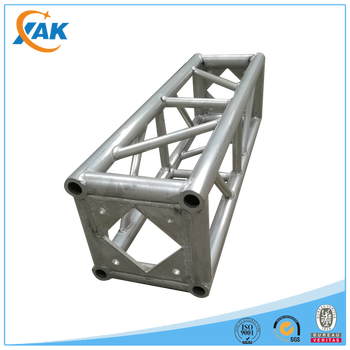 Factory 290x290mm aluminum stage frame truss structure/Event lighting spigot dj truss/Used aluminum truss roof system
