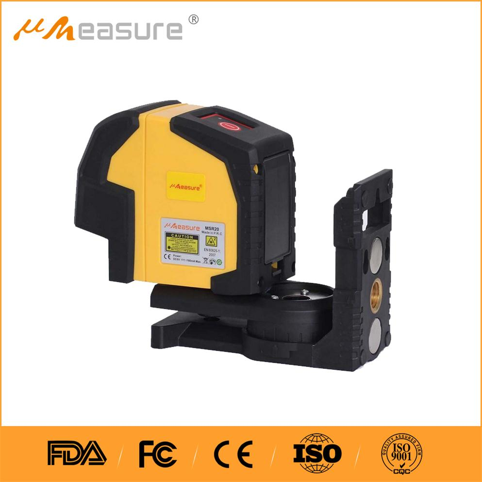 self-leveling cross line laser level MSR22