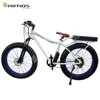 Beautiful cheap aluminum electric chopper beach cruiser bicycle for sale