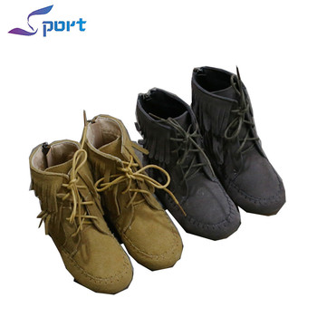 Autumn Rubber Tassel Kids Boots Wholesale
