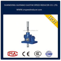 China SWL Electric worm SCREW JACKS FOR LIFTING motorized lift jack green mechanism