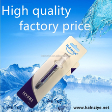 2017 New thermal conductive grease thermal compound heat sink paste for reselling and CPU cooling HY881