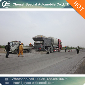 Road Make Truck,Gravel Synchronous Seal Car For Sale. 10cbm Asphalt Distributor Tank Truck