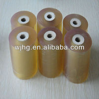 adhesive clear plastic film for packaging