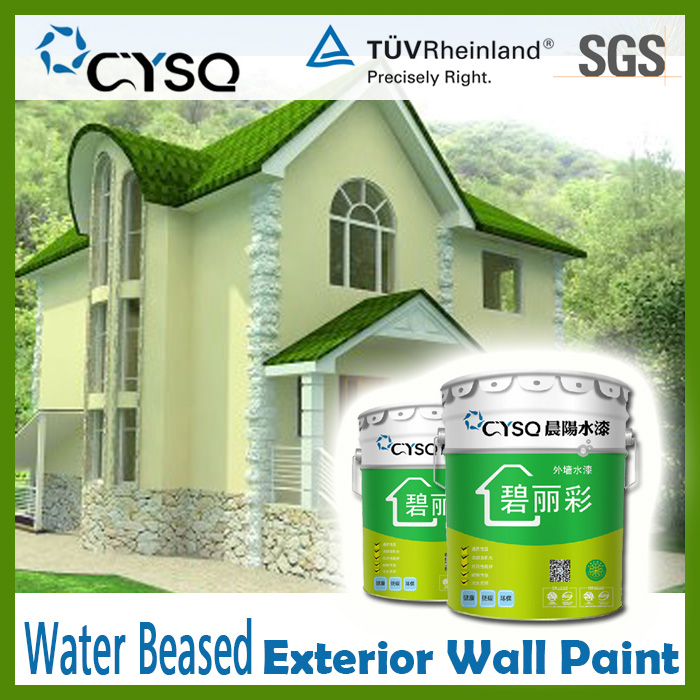 Water Based outdoor house paint