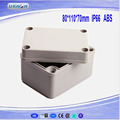 Plastic Electronics Project Box, Waterproof Distribution Box, ABS Junction Boxes OEM DS-AG-0811 (80*110*70)