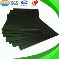 Conductive Fluted Color Black PP Corrugated Plastic Sheet 4x8
