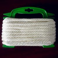 strong strength nylon solid braid rope with favorable price