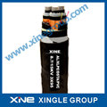0.6/1kV Cu Conductor XLPE Insulated PVC Sheathed Power Cable