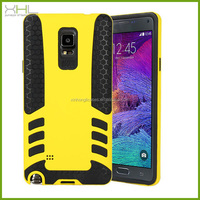 2014 new durable hybrid tpu pc rocket style case for samsung galaxy note 4