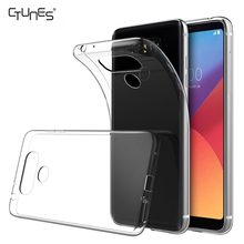For LG G6 Case Clear,Scratch Resistant Soft TPU Transparent Protective Back Cover Case for LG G6