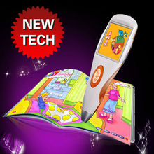 New arrival electronic educational learning toy for preschool learning book