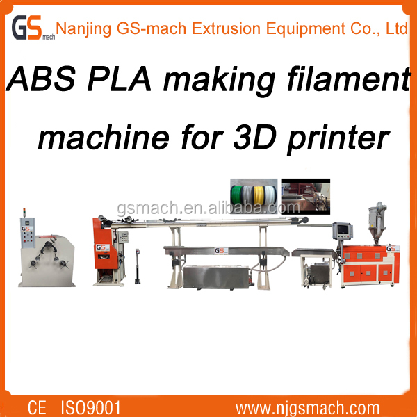 High Performance ABS Plastic Melting Temperature On Filament Machine/High Quality Environmental Filament Machine