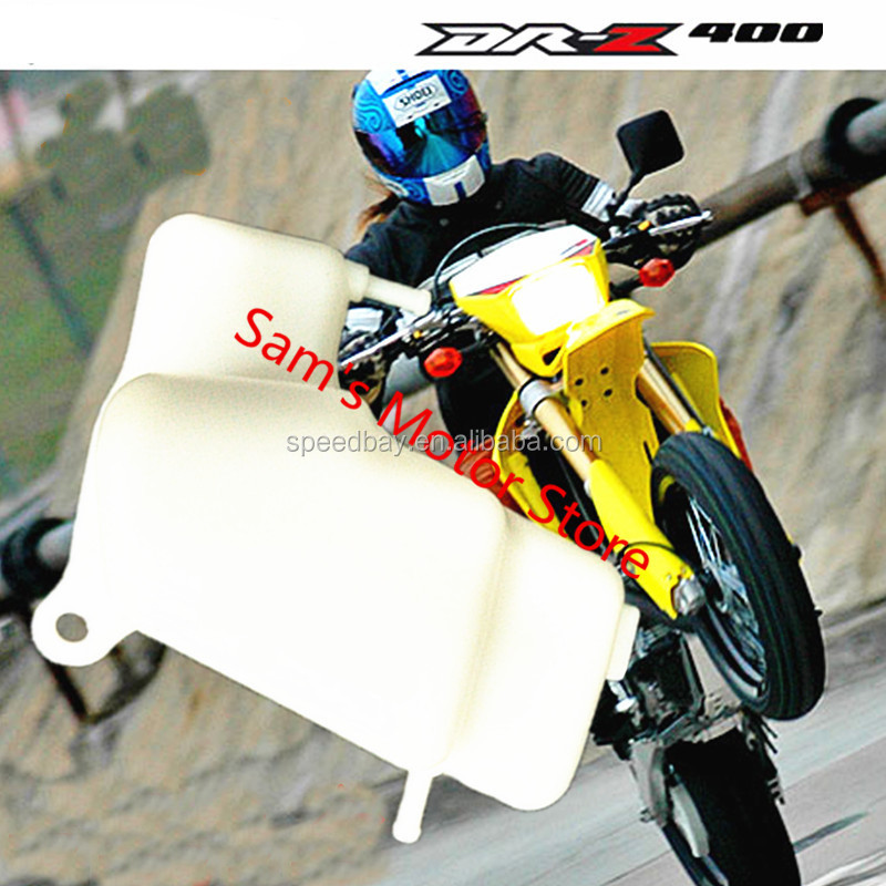 DRZ400 DRZ400SM DR-Z400S Dirt Bike Replacement Cooling Radiator Coolant Reservoir Motorcycle Water Tank