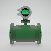 High quality sea water flow sensor meter with LCD display