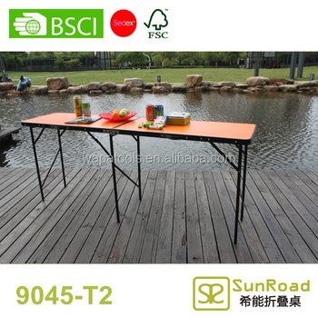 1.8m fiberglass outdoor table folding table