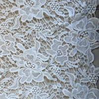 2015 fashion cotton beautiful flower chemical lace fabric/Guipure lace,more color to choose RS153