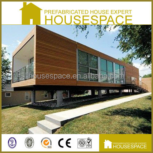 Mobile Sandwich Panel Ready Made Prefabricated Wooden House