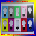 Custom logo OEM wholesale led light bulb card