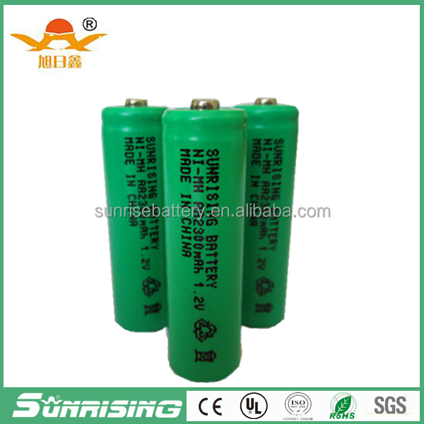 hot sale Ni-MH AA rechargeable battery 2300mAh nimh battery