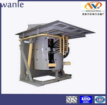 3 ton capacity medium frequency induction steel scrap melting furnace for casting industry
