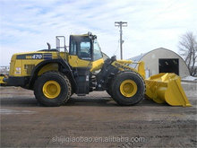 komatsu 470 used loader for sale