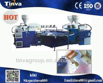 China Ruian Full automatic multi-functional PVC Plastic blowing injection moulding machine