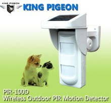 Good Wireless Outdoor motion sensor PIR-100D for home alarm systems distinguish between pets and people