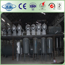 Plastic And Car Tyre/Rubber Pyrolysis/Recycling Machine To Fuel Oil