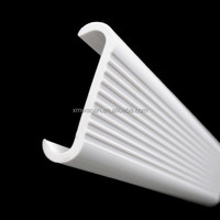 Cool Extrusion C Shape Plastic Profile