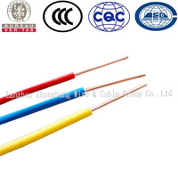 China Factory Supply H07Z-U LSZH Single Core Wire Cable Prices