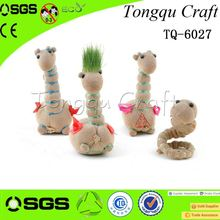 Interior Decoration grasshead Fancy head grass , grass head craft for kids