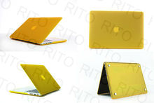 Wholesale Matte Rubberized Hard Case For Macbook Pro A1398 with Retina Screen,11 Colors,Customers logo