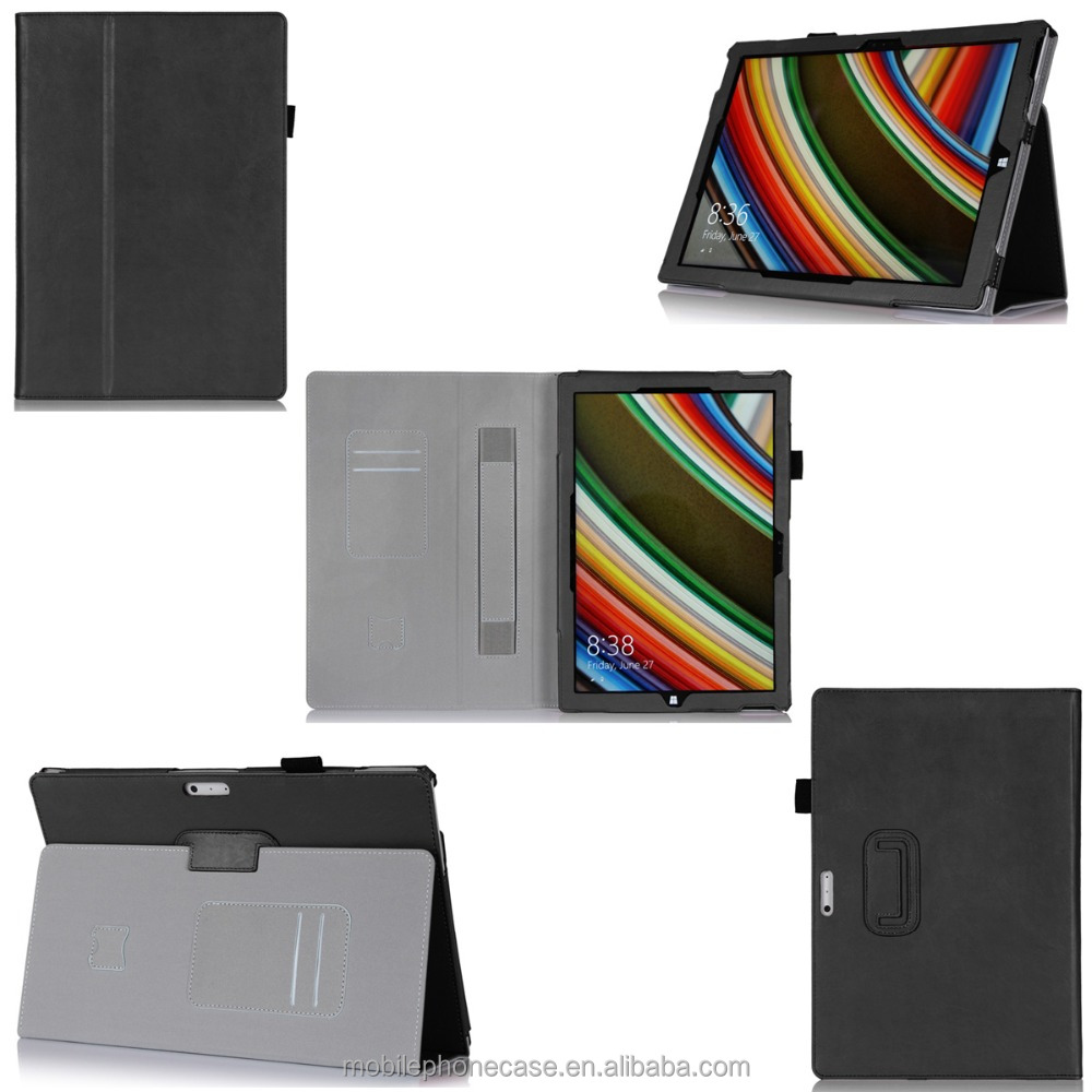 "Shock-Resistant 7"" Android Tablet Case With hand strap flip tablet case for Surface pro 3"