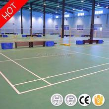 New design sound proof indoor volleyball/badminton sports flooring with CE/ISO