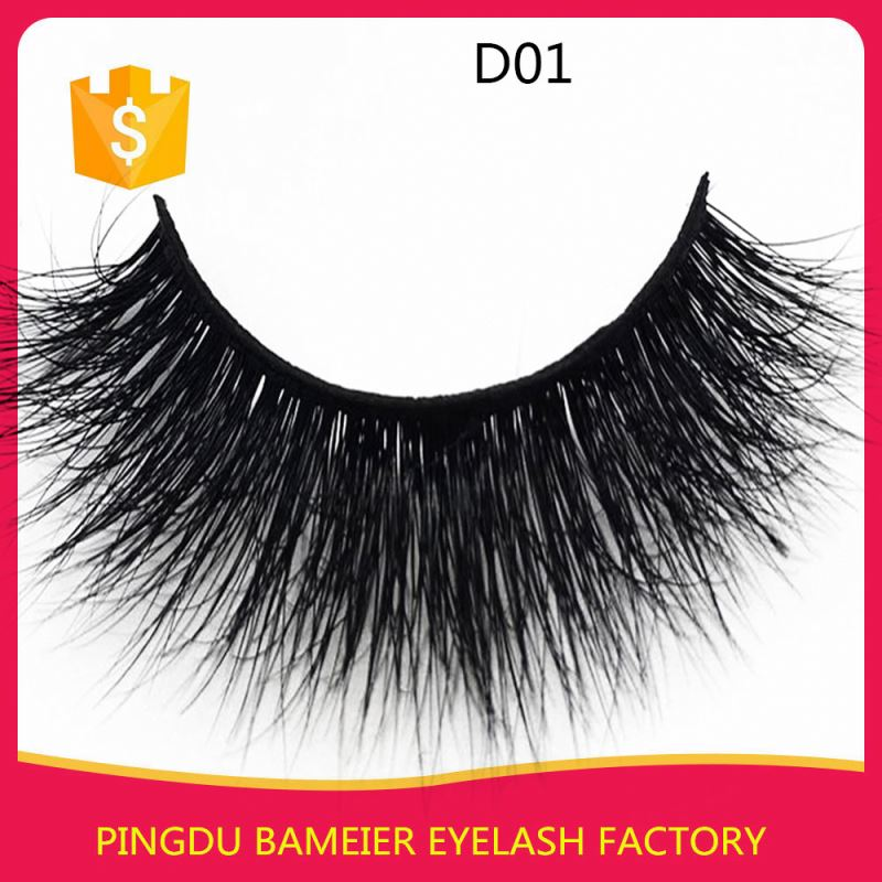 customized invisible band lash strips