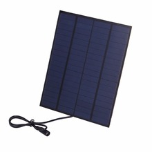 5.5W 18V Portable Solar Panel Solar Cell Sunpower Charger For 12V Car Battery