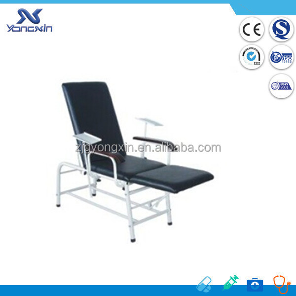 manual blood collection chair/hospital blood transfusion chair/phlebotomy chairs for sale(YXZ-T401)